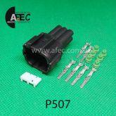 Автомобильный разъём штыревой 6-ти контактный аналог Sumitomo 6188-0559 KUM PB291-0602