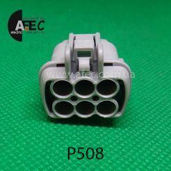 Автомобильный разъём гнездовой 6-ти контактный аналог Sumitomo 6185-1175 KUM PB295-06120