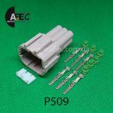 Автомобильный разъём штыревой 6-ти контактный аналог Sumitomo 6188-0560 KUM PB291-06127
