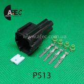 Автомобильный разъём штыревой 4-х контактный аналог KUM PB291-04027