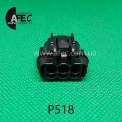 Автомобильный разъём гнездовой 3-х контактный аналог Sumitomo 6185-0868 KUM PB295-03020
