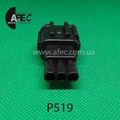 Автомобильный разъём штыревой 3-х контактный аналог Sumitomo 6188-0555 KUM PB291-03027