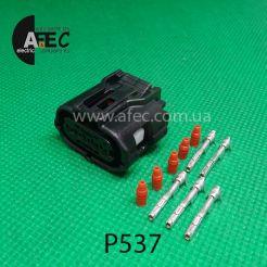 Автомобильный разъём гнездовой 5-ти контактный аналог Sumitomo 6189-1046 серии TS SEALED