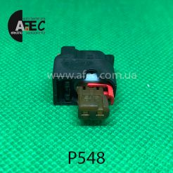 Авто разъём гнездовой 2-х контактный серии MCON аналог АМР TE 2098641-6