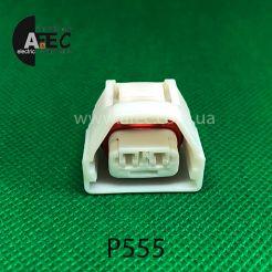 Авто разъём гнездовой 2-х контактный аналог YAZAKI 7283-7026-30