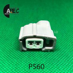 Авто разъём гнездовой 2-х контактный аналог SUMITOMO 6189-0611