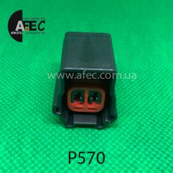 Разъем 2-х контактный гнездовой аналог Ford 3U2Z-14S411-EKB