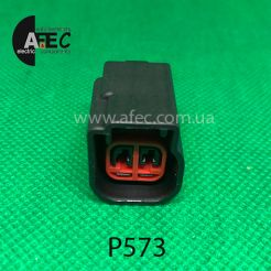 Разъем 2-х контактный гнездовой аналог GM 88988055  Ford 3U2Z-14S411-CUAA