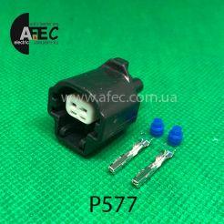 Разъем 2-х контактный гнездовой аналог YAZAKI 7183-7812-30