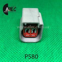 Разъем 2-х контактный гнездовой аналог GM 88988058