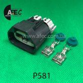Разъем 2-х контактный гнездовой аналог YAZAKI 7283-3214-30