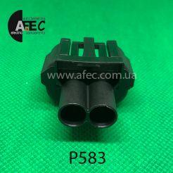 Разъем 2-х контактный гнездовой аналог GM 15306394