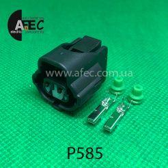 Разъем 2-х контактный гнездовой аналог YAZAKI 7283-7929 Toyota 90980-11025 90980-11401