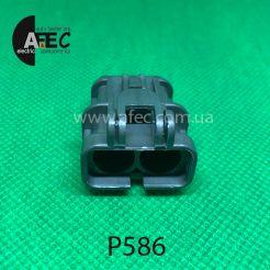 Разъем 2-х контактный гнездовой аналог YAZAKI 7123-6423-30