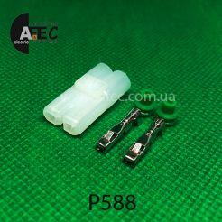 Разъем 2-х контактный гнездовой аналог Sumitomo 6180-2331