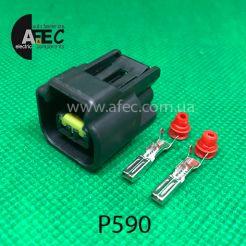 Разъем 2-х контактный гнездовой аналог Ford 3U2Z-14S411-SMA