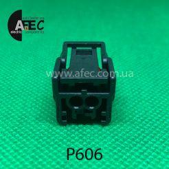 Разъем 2-х контактный гнездовой аналог SUMITOMO 6189-7052 с нижними направляющими