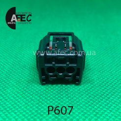 Разъем 3-х контактный гнездовой аналог SUMITOMO 6189-7037
