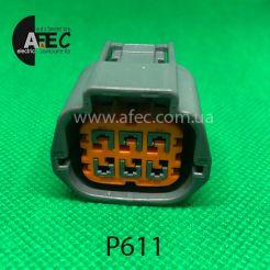 Разъем 6-ти контактный гнездовой аналог SUMITOMO 6189-0766 6189-1102