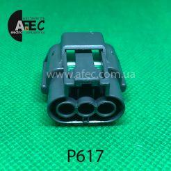 Разъем 3-х контактный гнездовой аналог SUMITOMO 6189-0779