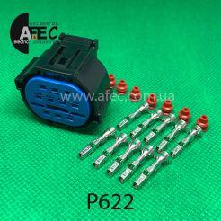 Разъем 10-ти контактный гнездовой аналог HP406-10021