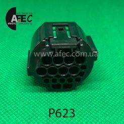 Разъем 14-ти контактный гнездовой аналог GL301-14021