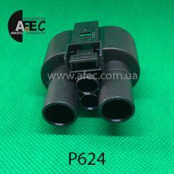 Разъем 4-х контактный гнездовой аналог 1J0 906 234 A