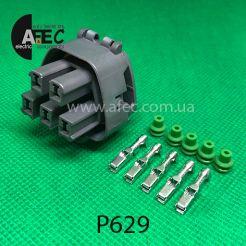 Разъем 5-ти контактный гнездовой аналог MG641521-4
