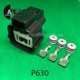 Разъем 3-х контактный гнездовой аналог MG642292-5