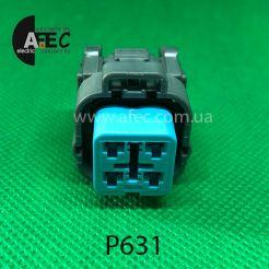 Разъем 4-х контактный гнездовой аналог 6189-6887