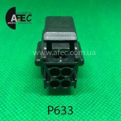Разъем 4-х контактный гнездовой аналог E-3938 WPT-182 Ford 1U2Z-14S411-AUA