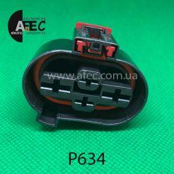 Разъем 4-х контактный гнездовой аналог 1K0 906 234 A
