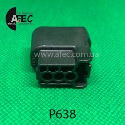 Разъем 3-х контактный гнездовой аналог 6189-0728