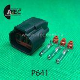 Разъем 3-х контактный гнездовой аналог WPT-990 Ford 8U2Z-14S411-ZB