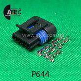 Разъём 5ти контактный гнездовой аналог Delphi 12162825 AC Delco PT1072 GM 15305932