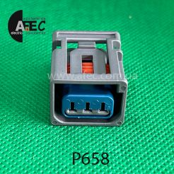 Разъём 3х контактный гнездовой аналог Motorcraft WPT-1205 Ford 3U2Z-14S411-KMB
