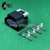 Разъем 4-х контактный гнездовой аналог Delphi 15326815 AC Delco PT2448 GM 19180287