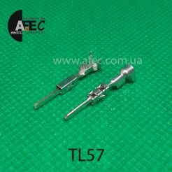 Клемма штыревая (папа) серии Micro Timer II аналог TE 963904-3
