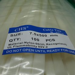 Хомут стяжка 7,5X500мм
