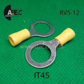 Клемма кольцевая d12мм под кабель 4-6мм2 RV5-12