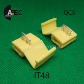 Ответвитель проводов гильотина сечением 4-6мм2 (QC3)