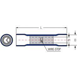 Соединитель проводов 4-6мм (BV5)