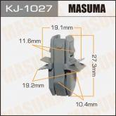 KJ1027 Клипса 91017FA080 91017PA230