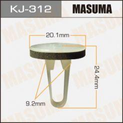 KJ312 Клипса 90189-05154