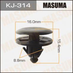 KJ314 Клипса 90467-10118
