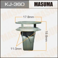 KJ360 Клипса 90189-06100 90189-06150