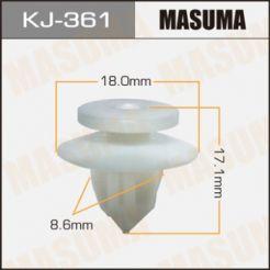 KJ361 Клипса 90467-10162