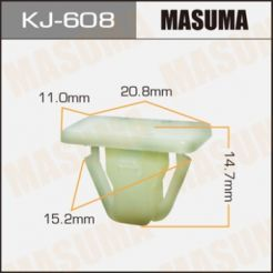 KJ608 Клипса 01281-00791