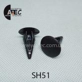 Клипса обшивки VW Audi Seat Skoda 811863905A