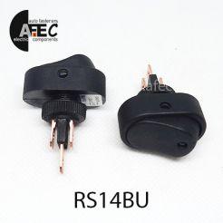 Автомобильный переключатель с подсветкой LED 20A 12V 3к под отверстие 12мм ASW-20D синий